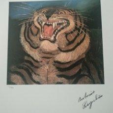 Art: LITOGRAFÍA ANTONIO LIGABUE EDICIÓN SPADEM 1995 70X50CM. Lote 268151744