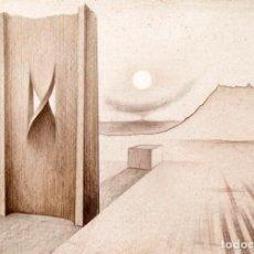Arte: SUBIRACHS - LITOGRAFÍA - PIEZA RARA - 66/150. Lote 268404719