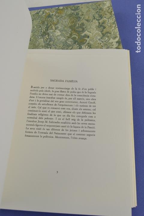 Arte: Places de Barcelona, Simó Busom, Josep Mª Cadena, 1994, litografías, edición de 60 ejemplares. - Foto 6 - 268610509