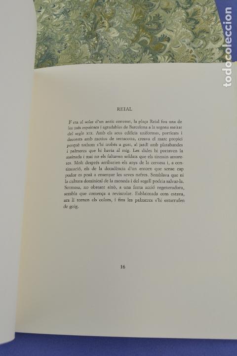 Arte: Places de Barcelona, Simó Busom, Josep Mª Cadena, 1994, litografías, edición de 60 ejemplares. - Foto 9 - 268610509