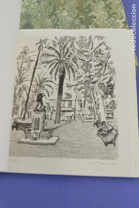 Arte: Places de Barcelona, Simó Busom, Josep Mª Cadena, 1994, litografías, edición de 60 ejemplares. - Foto 10 - 268610509