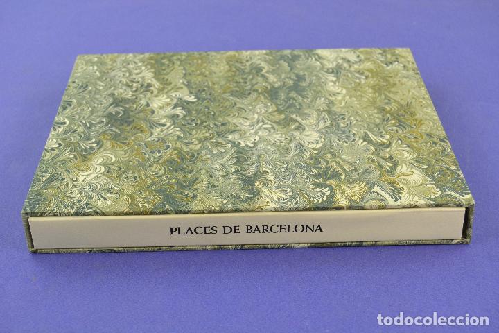 PLACES DE BARCELONA, SIMÓ BUSOM, JOSEP Mª CADENA, 1994, LITOGRAFÍAS, EDICIÓN DE 60 EJEMPLARES. (Arte - Litografías)