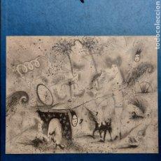 "Arte: JOSEP UCLÉS"" UNIVERSO IMAGINARIO"" LITOGRAFIA 1982. Lote 268610879"