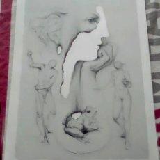 Arte: JOAN CASTEJÓN. BONITA LITOGRAFÌA EDICION LIMITADA Nº 137 DE 550. TAMAÑO 45 X 32 CMS. Lote 268904869