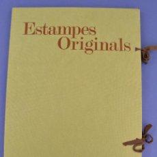Arte: ESTAMPES ORIGINALS, SIMÓ BUSOM, CARPETA CON LITOGRAFÍAS FIRMADAS Y NUMERADAS, TIRAJE 4 / 50.. Lote 269046213