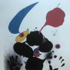 Arte: LITOGRAFÍA JOAN MIRÓ 56X76. EDICIÓN SPADEM 1973.. Lote 269483533