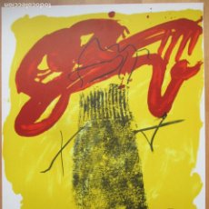 Arte: CARTEL TAPIES GALERIA PUNTO VALENCIA FEBRERO 1979. Lote 269645148