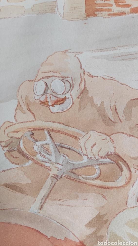 Arte: ERNEST MONTAUT (FRANCIA 1879-1909) LITOGRAFIA TÉCNICA POCHOIR - Foto 4 - 270877593