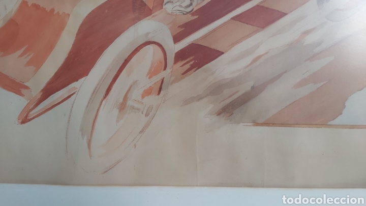 Arte: ERNEST MONTAUT (FRANCIA 1879-1909) LITOGRAFIA TÉCNICA POCHOIR - Foto 9 - 270877593