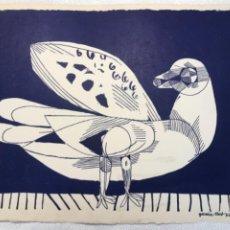 Arte: LITOGRAFÍA DE JOSEP MARÍA GARCÍA LLORT.. Lote 272560548
