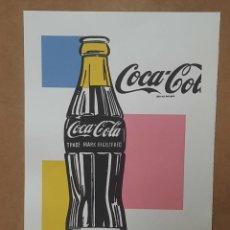 Arte: LITOGRAFIA DE ANDY WARHOL, COCA COLA,NUMERADO A LAPIZ,CON FIRMA Y MARCA DE AGUA,57X38 CMS. Lote 294120668