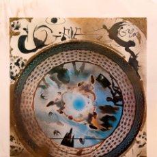 Arte: SALVADOR DALI - LITOGRAFIA OFFSET FIRMADO Y JUSTIFICADO - E.M.. Lote 275046553