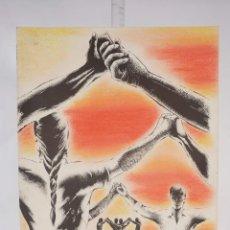 Arte: LITOGRAFÍA COLOREADA 17/Ñ SARDANAS FIRMADA A LÁPIZ LLORENS 1993. Lote 276048118
