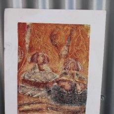Arte: CHARO PUCHE - DAMAS AL SOL EN OCRES. Lote 276688638