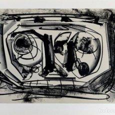 Arte: ANTONIO SAURA - DIARIOS DE KAFKA - LITOGRAFIA FIRMADA / NUMERADA. Lote 276780703