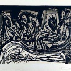 Arte: ANTONIO SAURA - DIARIOS DE KAFKA - LITOGRAFIA FIRMADA / NUMERADA. Lote 276780888