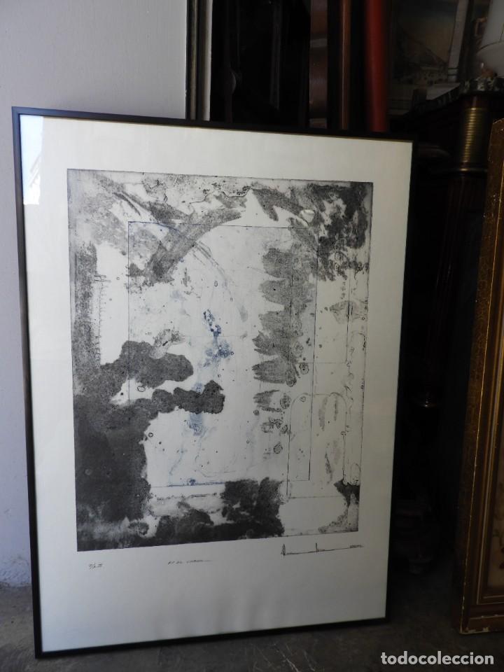 LITOGRAFIA DE PINTOR ARAGONES PA/3 EN EL UMBRAL (Arte - Litografías)