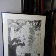 Arte: LITOGRAFIA DE PINTOR ARAGONES PA/3 EN EL UMBRAL. Lote 276990103