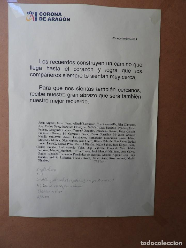 Arte: LITOGRAFIA DE PINTOR ARAGONES PA/3 EN EL UMBRAL - Foto 6 - 276990103
