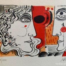 Arte: LITOGRAFÍA ALCOY NUMERADA Y FIRMADA A LAPIZ. Lote 277295053
