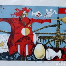 Arte: LITOGRAFÍA ROVIRA BRULL NUMERADA Y FIRMADA A LAPIZ. Lote 277296178