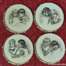 Arte: 4 PROGRAMAS DEL CENTRO COMICO LIRICO. TEATRO NOVEDADES. IMP. CUNILL. 1891.. Lote 277598813