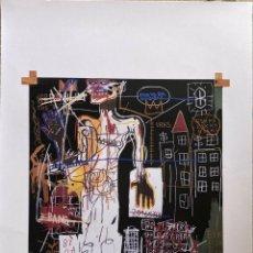 Arte: JEAN-MICHEL BASQUIAT - LITOGRAFIA - UNTITLED - 1981 - 250 EX. - 50X70. Lote 278920423