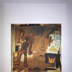 Arte: JEAN-MICHEL BASQUIAT - LITOGRAFIA - UNTITLED - 1981 - 250 EX. - 50X70. Lote 278920498