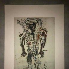 Arte: JEAN-MICHEL BASQUIAT - LITOGRAFIA - UNTITLED - 1981 - 250 EX. - 50X70. Lote 278920548