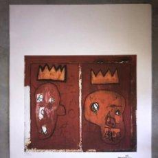Arte: JEAN-MICHEL BASQUIAT - LITOGRAFIA - UNTITLED - 1981 - 250 EX. - 50X70. Lote 278920613