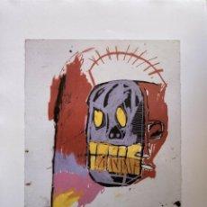 Arte: JEAN-MICHEL BASQUIAT - LITOGRAFIA - UNTITLED - 1981 - 250 EX. - 50X70. Lote 278920653