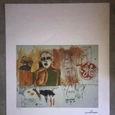 Arte: JEAN-MICHEL BASQUIAT - LITOGRAFIA - UNTITLED - 1981 - 250 EX. - 50X70. Lote 278920718