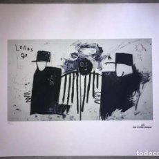 Arte: JEAN-MICHEL BASQUIAT - LITOGRAFIA - UNTITLED - 1981 - 250 EX. - 50X70. Lote 278920818