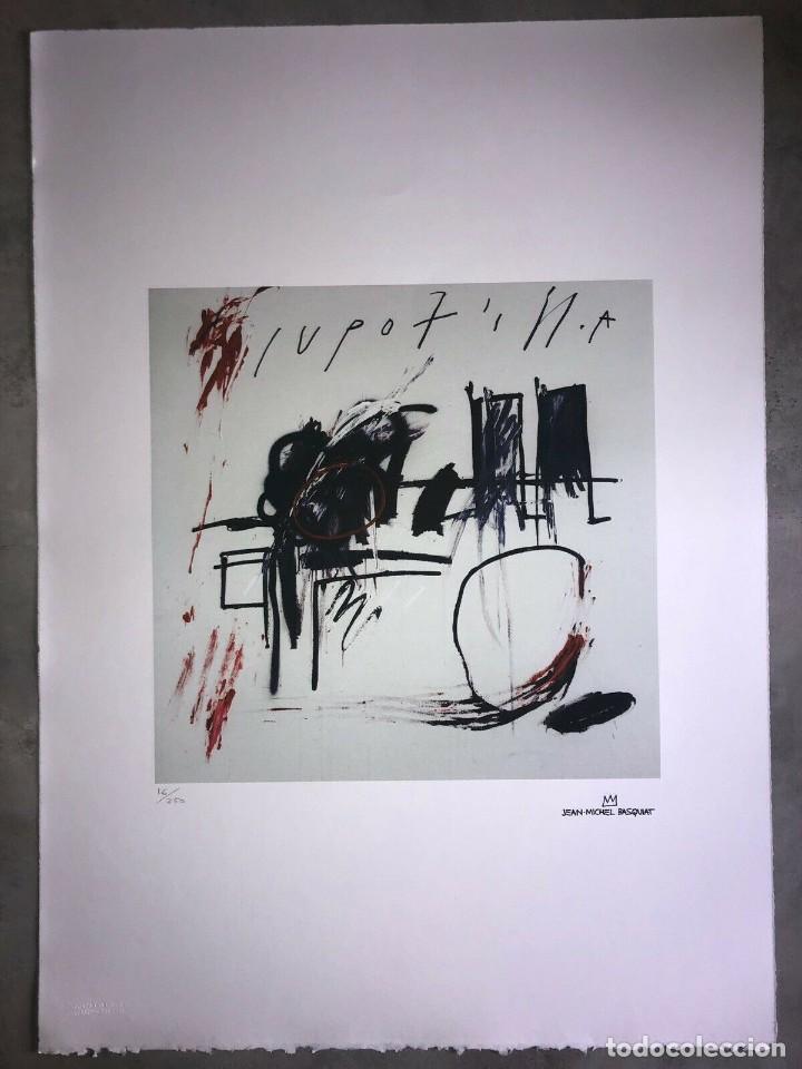 JEAN-MICHEL BASQUIAT - LITOGRAFIA - UNTITLED - 1981 - 250 EX. - 50X70 (Arte - Litografías)