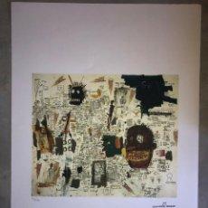 Arte: JEAN-MICHEL BASQUIAT - LITOGRAFIA - UNTITLED - 1981 - 250 EX. - 50X70. Lote 278920908