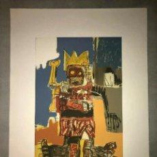 Arte: JEAN-MICHEL BASQUIAT - LITOGRAFIA - UNTITLED - 1981 - 250 EX. - 50X70. Lote 278920928