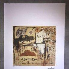 Arte: JEAN-MICHEL BASQUIAT - LITOGRAFIA - UNTITLED - 1981 - 250 EX. - 50X70. Lote 278920973