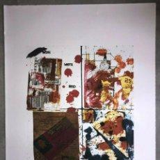 Arte: JEAN-MICHEL BASQUIAT - LITOGRAFIA - UNTITLED - 1981 - 250 EX. - 50X70. Lote 278921008
