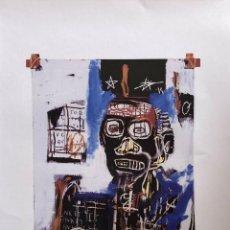 Arte: JEAN-MICHEL BASQUIAT - LITOGRAFIA - UNTITLED - 1981 - 250 EX. - 50X70. Lote 278921038
