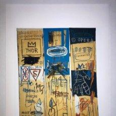 Arte: JEAN-MICHEL BASQUIAT - LITOGRAFIA - UNTITLED - 1981 - 250 EX. - 50X70. Lote 278921108