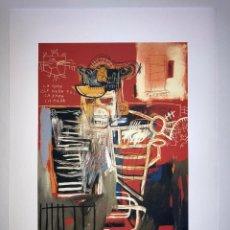 Arte: JEAN-MICHEL BASQUIAT - LITOGRAFIA - UNTITLED - 1981 - 250 EX. - 50X70. Lote 278921143