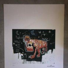 Arte: JEAN-MICHEL BASQUIAT - LITOGRAFIA - UNTITLED - 1981 - 250 EX. - 50X70. Lote 278921193