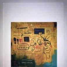 Arte: JEAN-MICHEL BASQUIAT - LITOGRAFIA - UNTITLED - 1981 - 250 EX. - 50X70. Lote 278921213