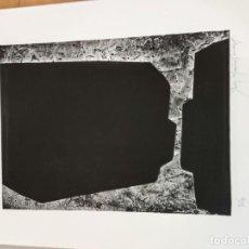 Arte: JOSEP MARIA SIRVENT , LITOGRAFIA BLANCO Y NEGRO PINTURA DIBUJO BALEARES MALLORCA ARTE. Lote 284080808