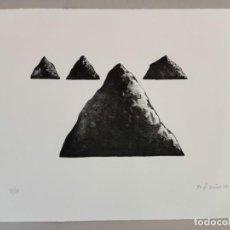 Arte: ANTONI SOCIAS , LITOGRAFIA BLANCO Y NEGRO PINTURA DIBUJO BALEARES MALLORCA ARTE. Lote 284080853