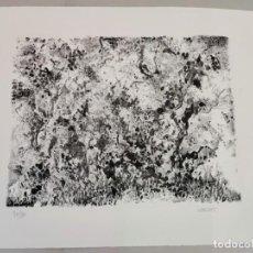 Arte: JOHN ULBRICHT , LITOGRAFIA BLANCO Y NEGRO PINTURA DIBUJO BALEARES MALLORCA ARTE. Lote 284081013