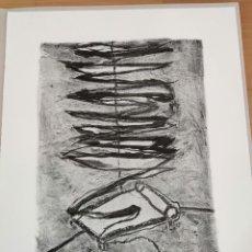Arte: HORACIO SAPERE , LITOGRAFIA BLANCO Y NEGRO PINTURA DIBUJO BALEARES MALLORCA ARTE. Lote 284081073