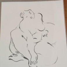 Arte: JAUME MIR , LITOGRAFIA BLANCO Y NEGRO PINTURA DIBUJO BALEARES MALLORCA ARTE. Lote 284081338