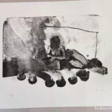Arte: J M MENENDEZ ROJAS, LITOGRAFIA BLANCO Y NEGRO PINTURA DIBUJO BALEARES MALLORCA ARTE. Lote 284081453