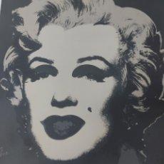 Art: MARILYN MONROE - ANDY WARHOL, LITOGRAFÍA ORIGINAL NUMERADA (CMOA, 80S). Lote 284619253
